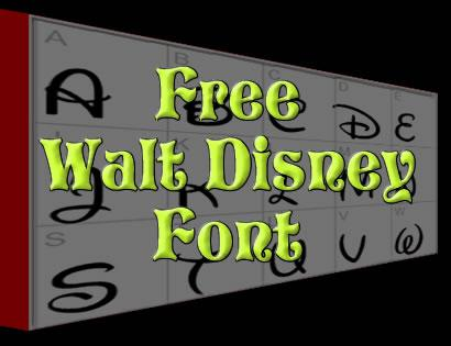 The Gallery For Mickey Mouse Font Generator