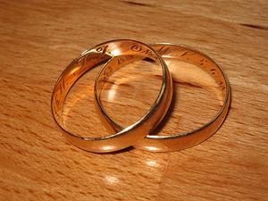 Set of wedding rings