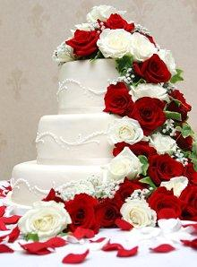 Images of Three Tier Wedding Cakes Slideshow