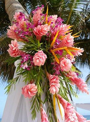 beach themed wedding bouquets slideshow. Black Bedroom Furniture Sets. Home Design Ideas