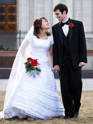 Pictures Of Lds Wedding
