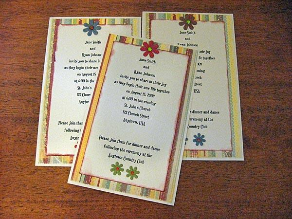 Create Your Own Wedding Invitations: Make Your Own Wedding Invitations [Slideshow]