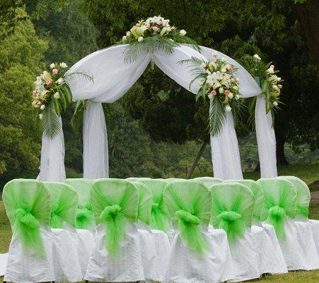 Bridal arches slideshow for Arch decoration for wedding