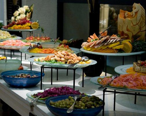 Ideas For The Buffet At A Wedding Reception Slideshow