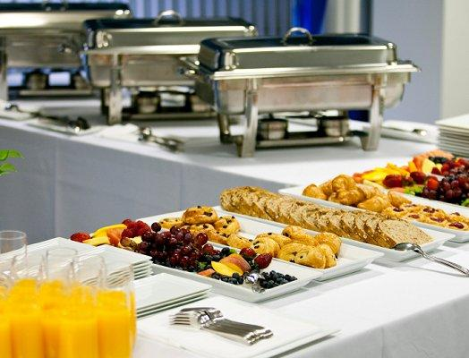Ideas For The Buffet At A Wedding Reception