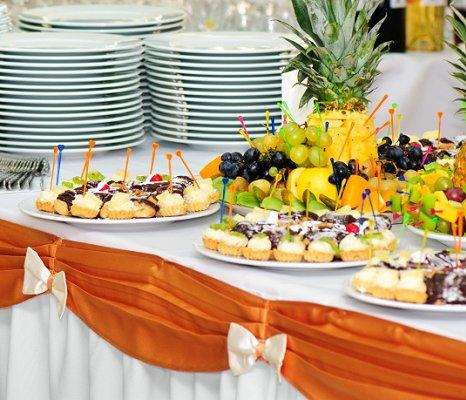 Buffet Table Decorating Ideas Pictures image of candy buffet table decorations Ideas For The Buffet At A Wedding Reception