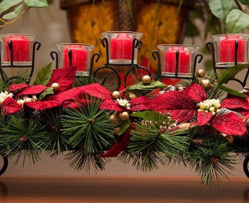 Red Wedding Centerpieces Slideshow
