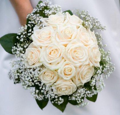 Summer wedding bouquets lovetoknow summer wedding bouquets junglespirit Choice Image