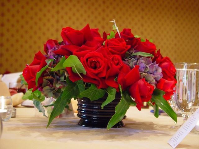 Purple flower centerpieces for summer weddings slideshow