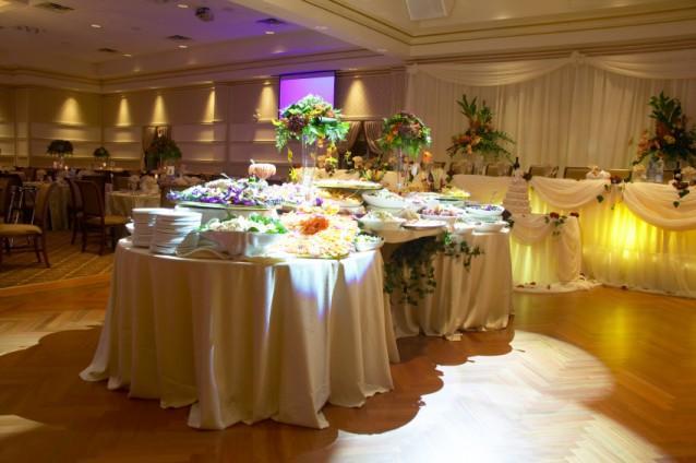 Buffet Table Ideas Wedding Reception: Photos Of Wedding Reception Decorations [Slideshow]