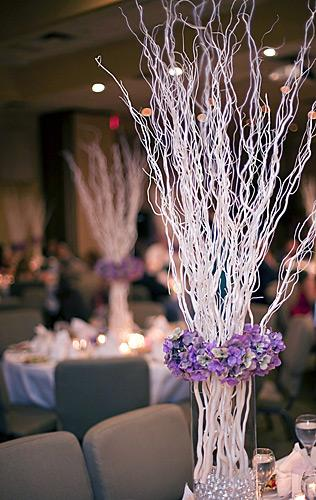 Pictures of modern wedding centerpieces slideshow
