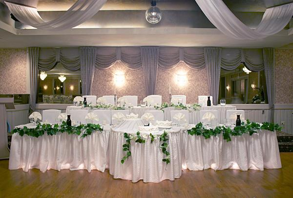 Head table the head table will be one of the