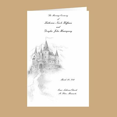 Family Trees Wedding Program Source Happily Ever After From Ann S Bridal Bargains