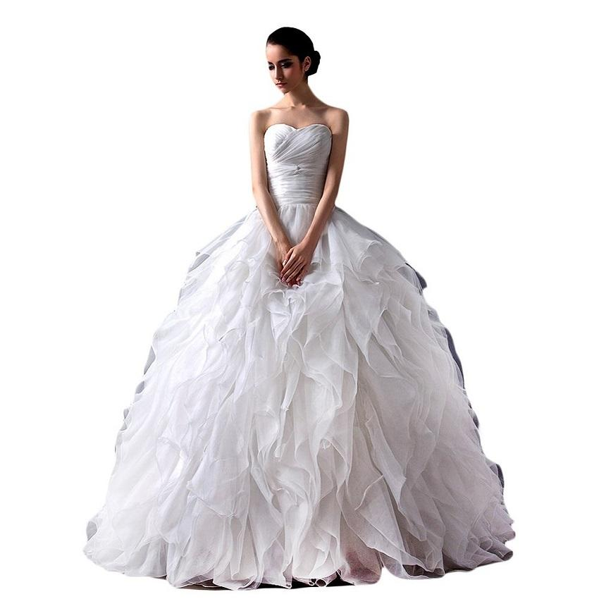 Pictures Of Wedding Dresses With Sweetheart Necklines