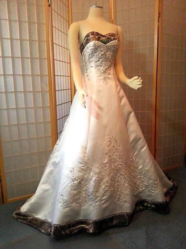 Camouflage Wedding Dress Accessories