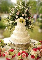 Decorating the Cake Table SourceSimple Wedding Cakes with Fresh Flowers. Fresh Flower Wedding Cakes. Home Design Ideas