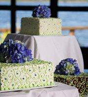 Hydrangea cake toppers