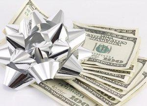 determining appropriate cash gifts for a wedding