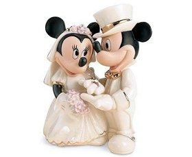 Mickey and Minnie Wedding Figurine
