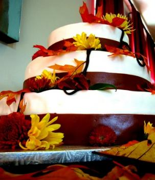 Fall cake; image courtesy of Plinio Sandalio