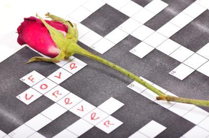 love crossword game