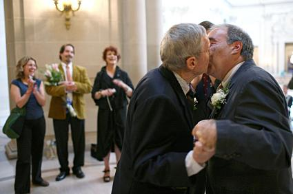 Same sex wedding ceremony
