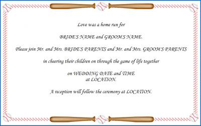 Plan a Baseball Theme Wedding LoveToKnow