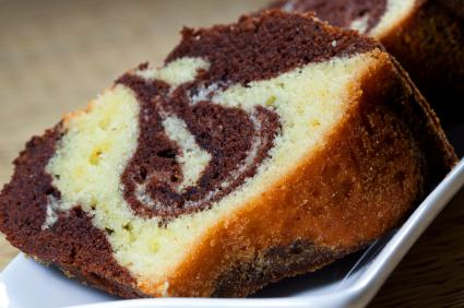 ... marble cake, inspired by traditional german marble cake. kosher, dairy