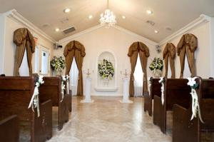 Victorian Chapel At Of The Flowers