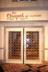 The Chapel at Luxor