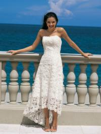 Lace gown style dress from Alfred Angelo
