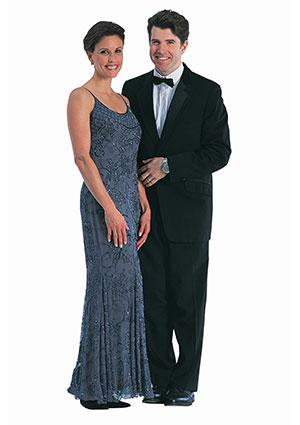 Black Tie Formal Outfits