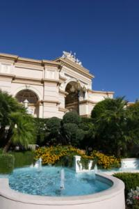 Outside Gardens at Bellagio Hotel