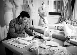 David Tutera in the studio