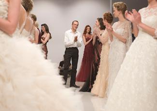 Peter Langner at fashion show