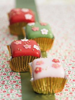 Oriental Blossom Fancies by Zoe Clark Cakes