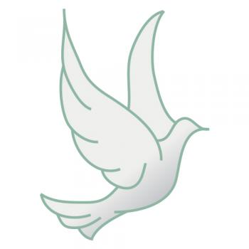 Free wedding doves clipart 1