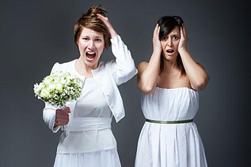Wedding problems metaphor