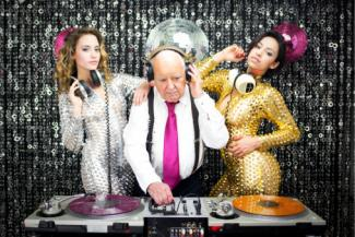 old man DJ