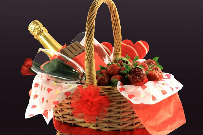 Wedding Night Gift Baskets