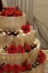cake with truffles