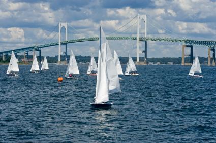 A view of Newport harbor.
