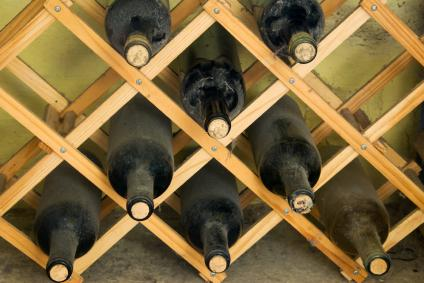 built in wine rack plans