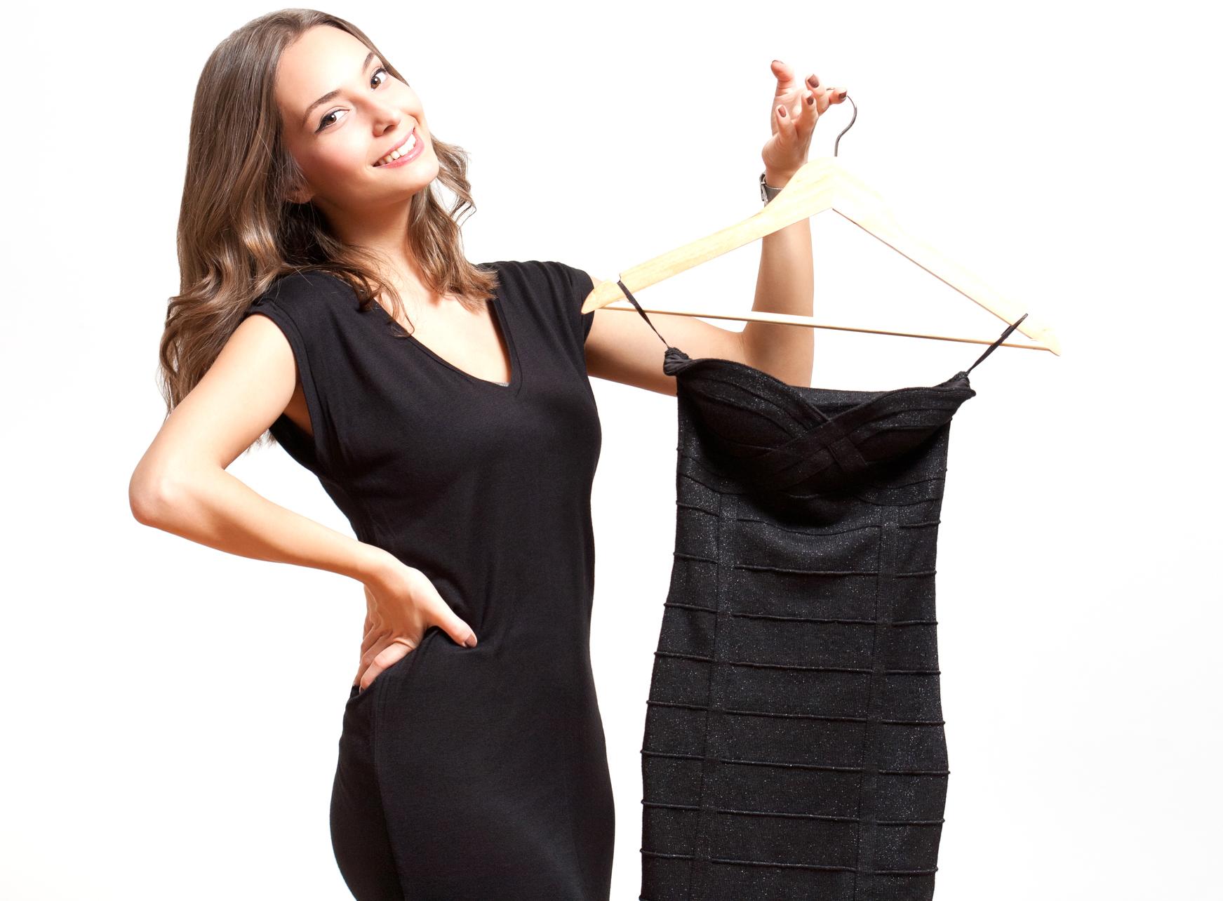 Black dress woman - Black Dress Woman 58