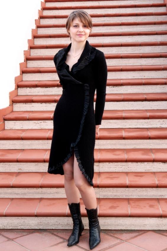 Long black dress ideas