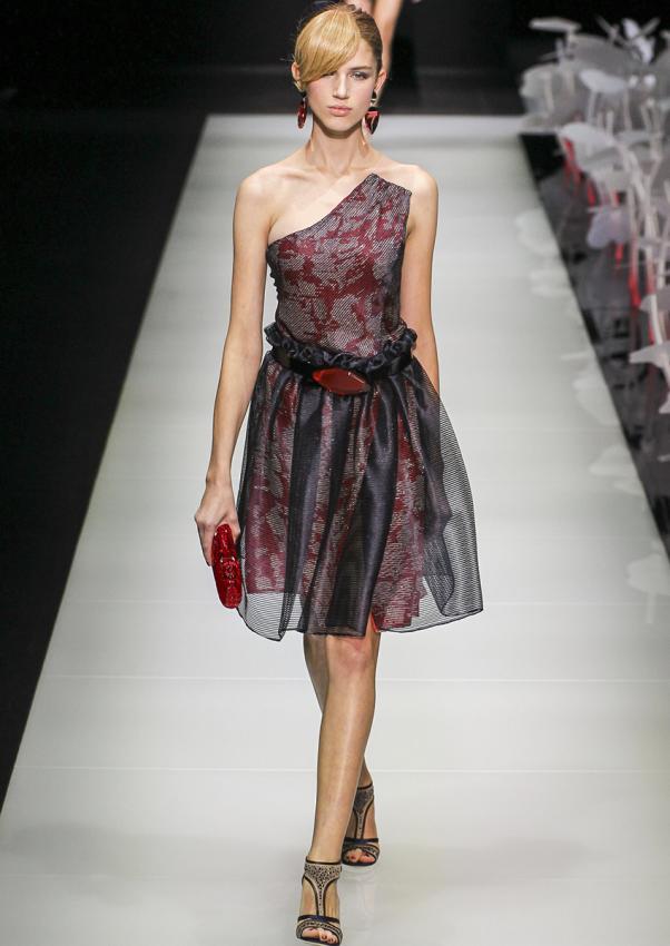 Armani Black Dresses [Slideshow]