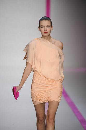 Mini Romantic Dress Fashion with Flowy Fabrics and a Sweet Pastel Color for Women in 2011