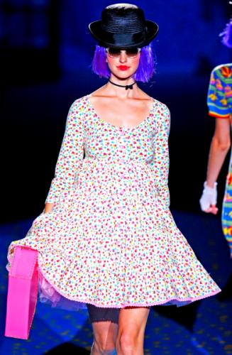 Trend Short Floral Fashion with Betsey Johnson Dresses for Women in Summer
