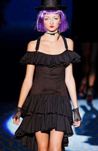 Modern Little Black Dress Fashion with Betsey Johnson for Women in 2011