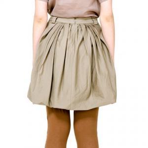 Bubble Hem Skirt